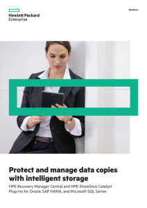 Protect and manage data copies with intelligent storage