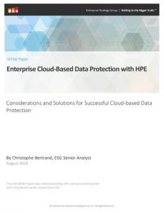 White Paper: Cloudbased Data Protection