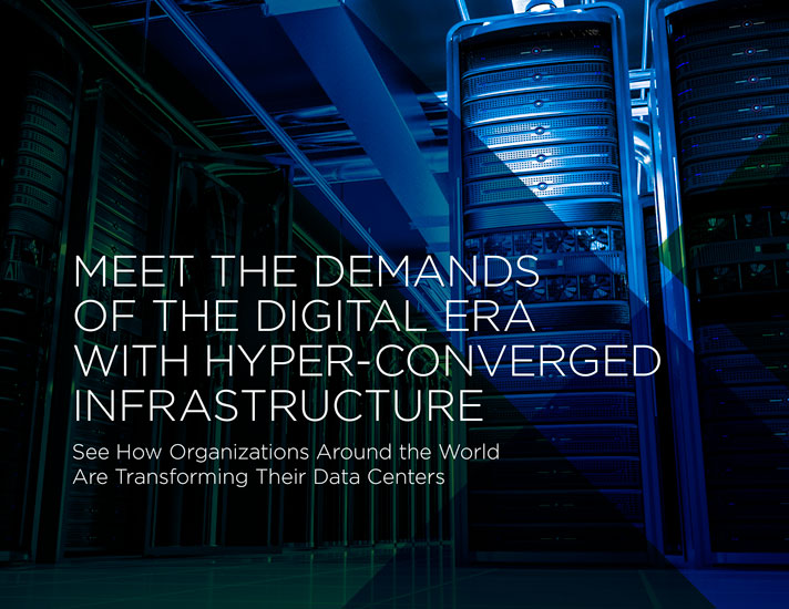 Meet the Demands of the Digital Era with Hyper-Converged Infrastucture
