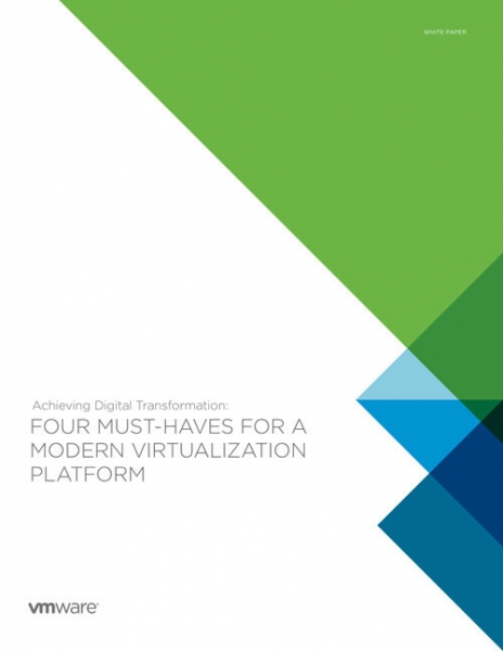 Four Must-Haves for a Modern Virtualisation Platform