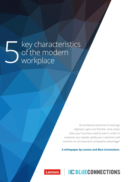 Blue Connections Modern Workplace White Paper