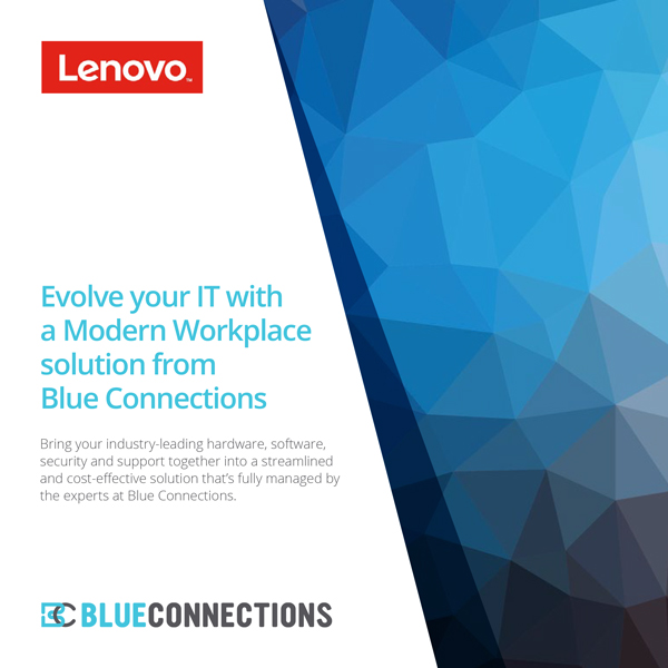 Blue Connections Modern Workplace Brochure