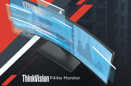 ThinkVision P44w Monitor Datasheet