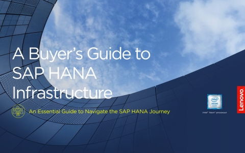 A Buyer's Guide to SAP HANA Infrastructure