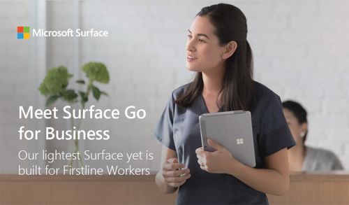Fact Sheet: Surface Go for Business