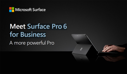 Fact Sheet: Surface Pro 6 for Business