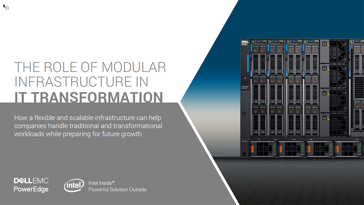 Dell Modular Infrastructure