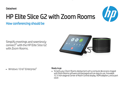 Elite Slice G2 with Zoom Rooms