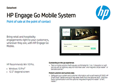 Engage Go Mobile System