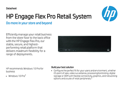 Engage Flex Pro Retail System