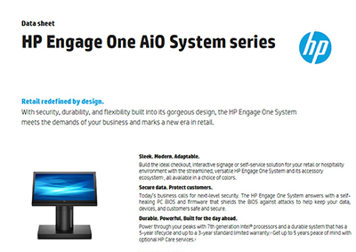 Engage One AiO System Series