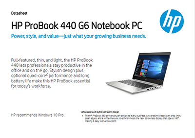 ProBook 440 G6 Notebook PC