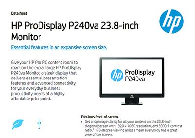 ProDisplay P240va 23.8-inch Monitor