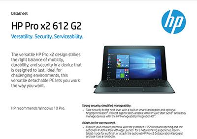 Pro x2 612 G2