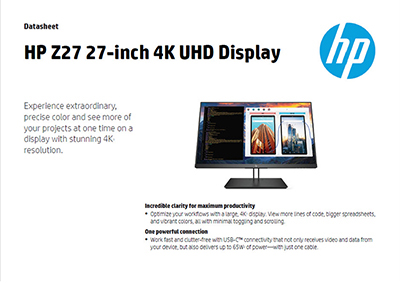 Z27 27-inch 4K UHD Display