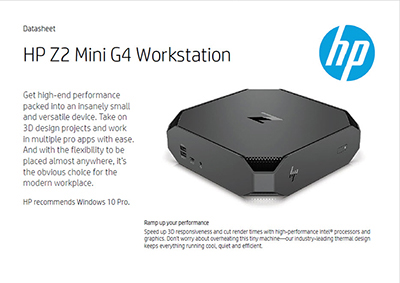 Z2 Mini G4 Workstation