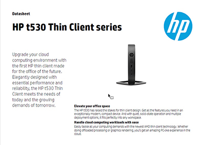 t530 Thin Client series