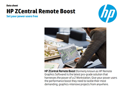 ZCentral Remote Boost 2020 Datasheet