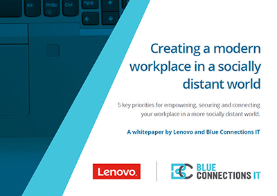 Creating a modern workplace in a socially distant world