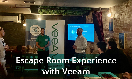 Escape Room Experience with Veeam