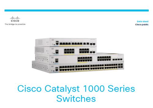 Datasheet: Cisco Catalyst 1000 Series Switches