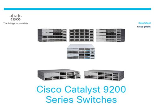 Datasheet: Cisco Catalyst 9200L Switches