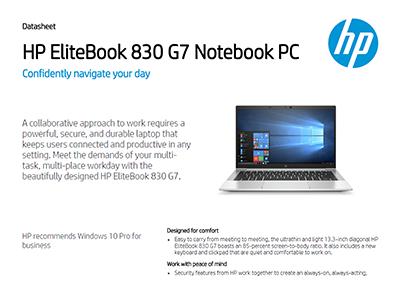 HP EliteBook 830 G7 Notebook