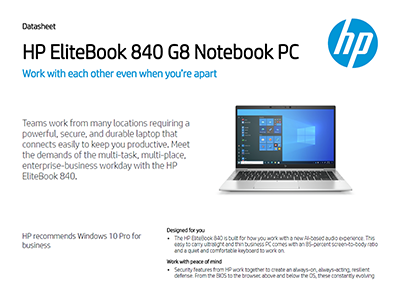 HP EliteBook 840 G8 Notebook