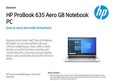 HP ProBook 635 Aero G8 Notebook