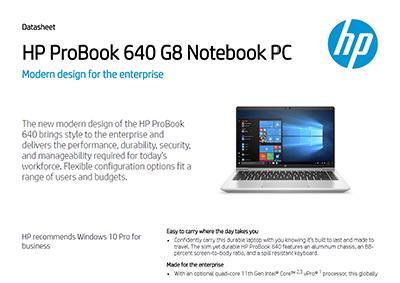HP ProBook 640 G8 Notebook