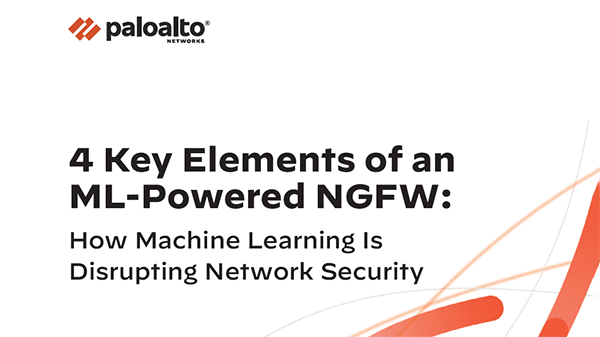 4 Key Elements of an ML-Powered NGFW